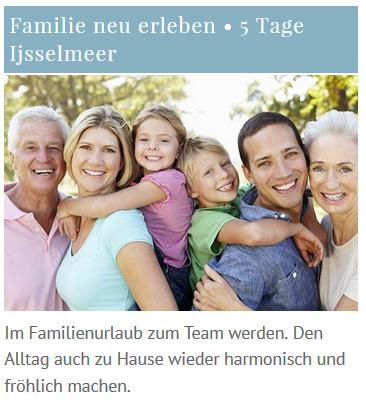 Seminarreise Familienreise